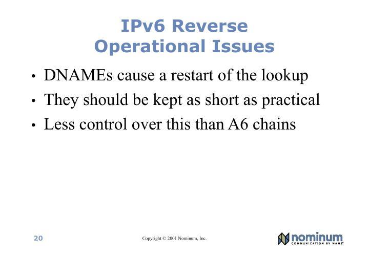 IPv6 Reverse