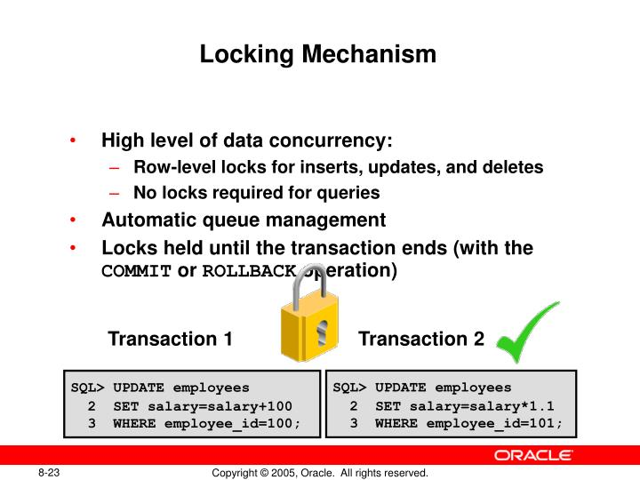 Locking Mechanism