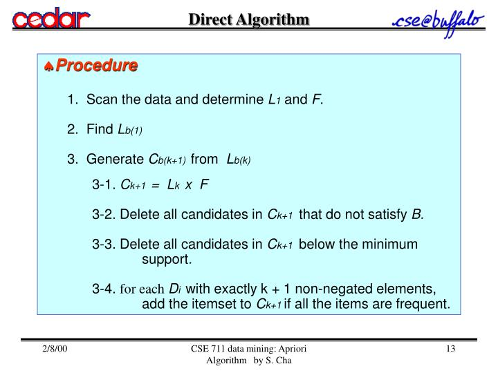 Direct Algorithm