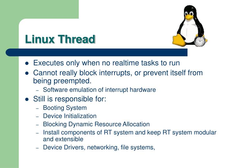 Linux Thread
