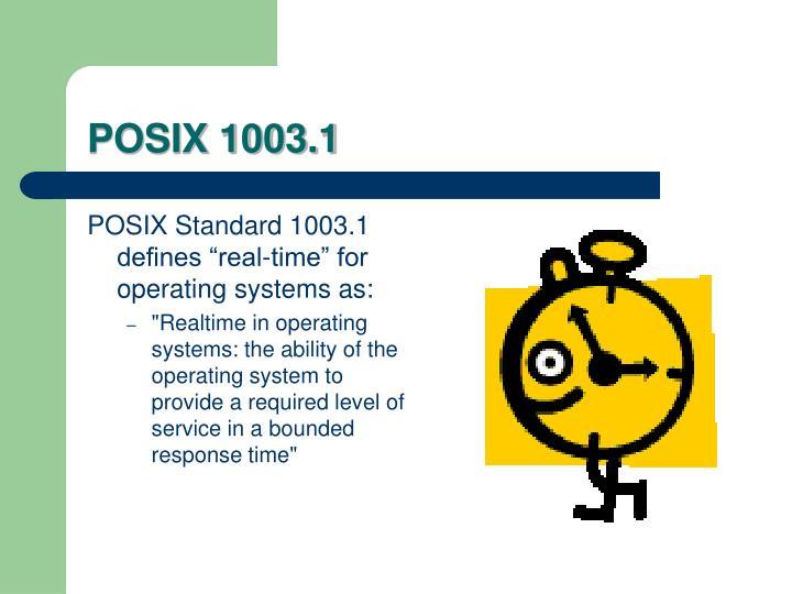 POSIX 1003.1