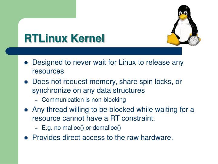 RTLinux Kernel
