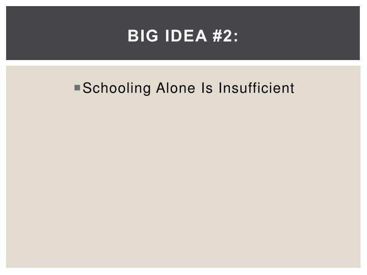 Big Idea #2:
