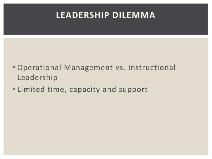 Leadership Dilemma