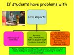 if students have problems with1