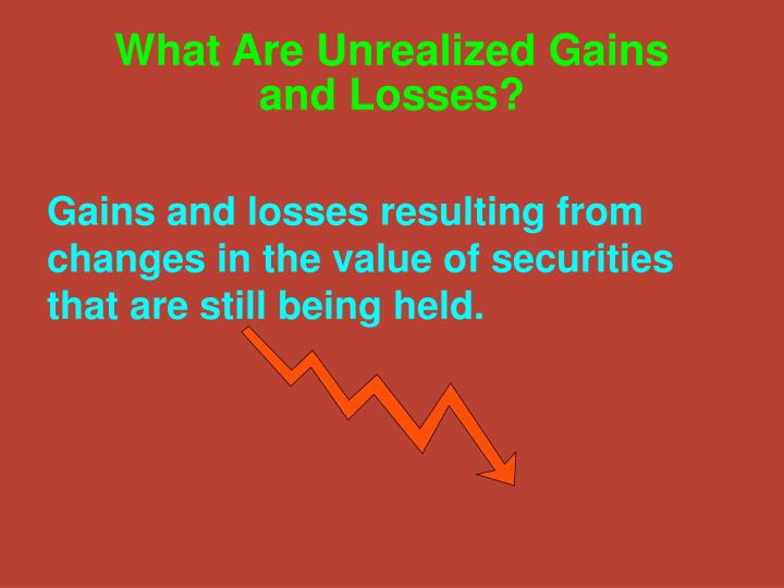 What Are Unrealized Gains