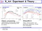 r aa experiment theory
