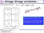 strange strange correlations