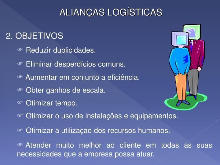ALIANÇAS LOGÍSTICAS