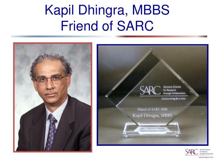 Kapil Dhingra, MBBS