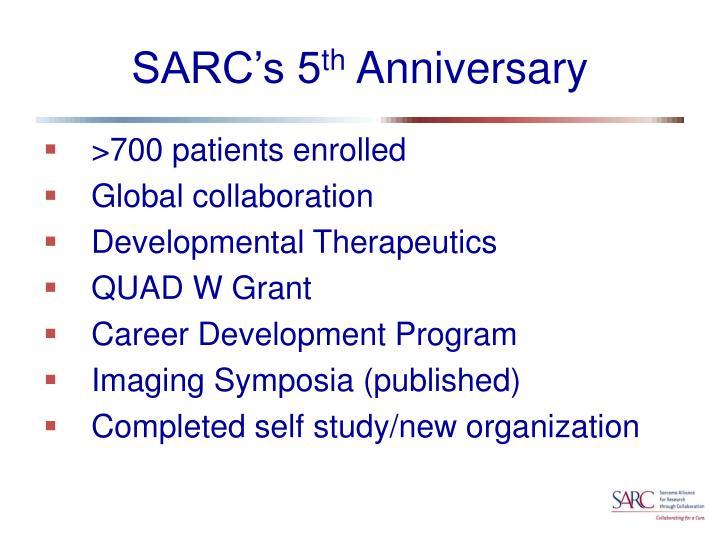 SARC's 5
