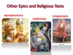 other epics and religious texts