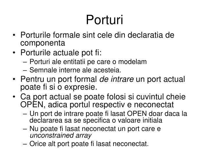 Porturi