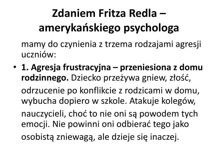 Zdaniem Fritza