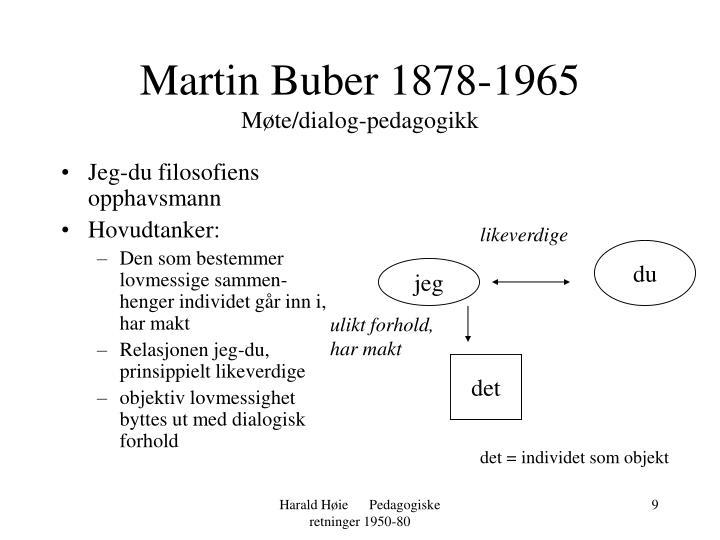 Martin Buber 1878-1965