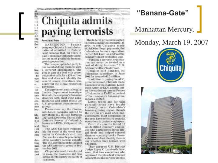 """""""Banana-Gate"""""""