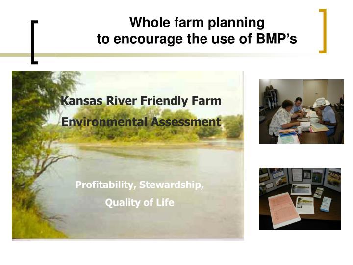 Whole farm planning