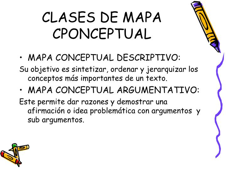 CLASES DE MAPA CPONCEPTUAL