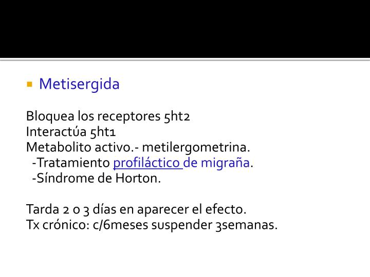 Metisergida
