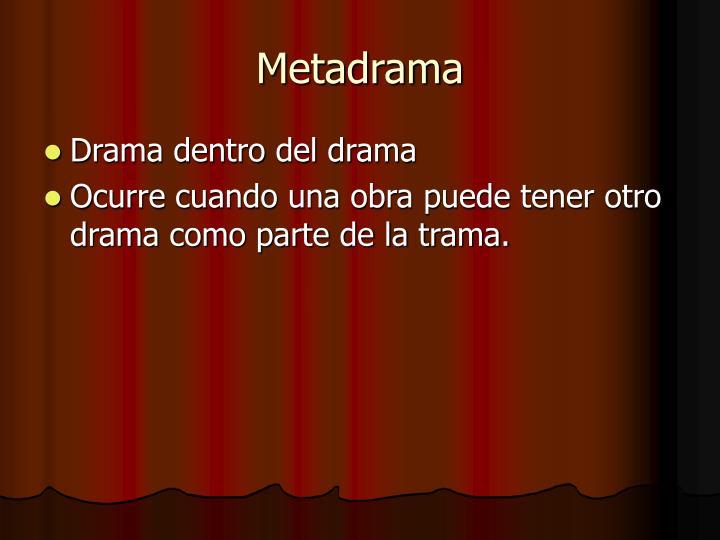 Metadrama