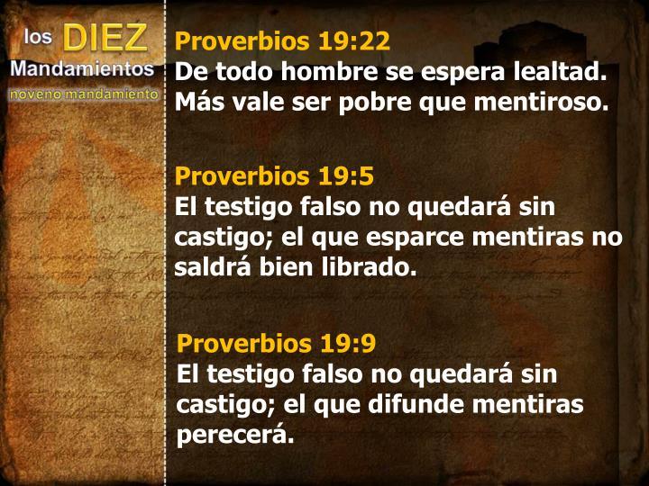 Proverbios 19:22