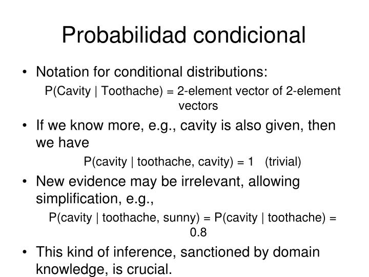 Probabilidad condicional