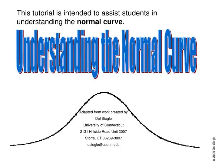 Understanding the Normal Curve