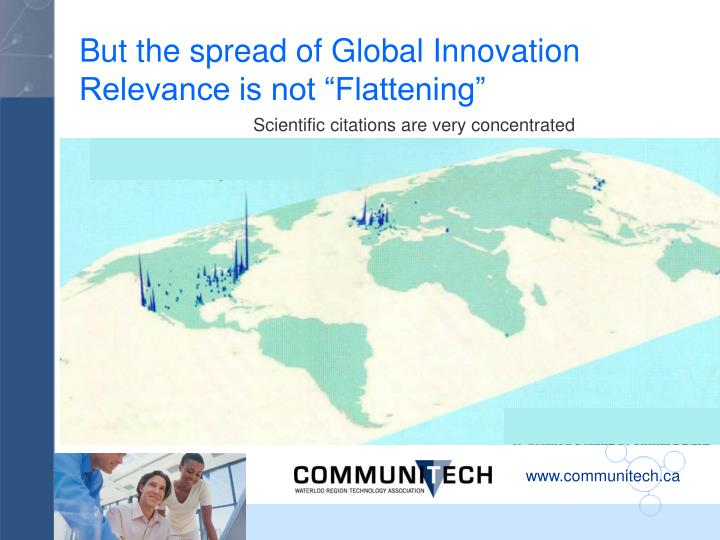 But the spread of Global Innovation