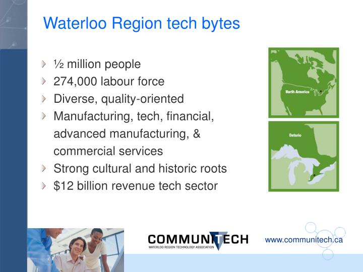 Waterloo Region tech bytes