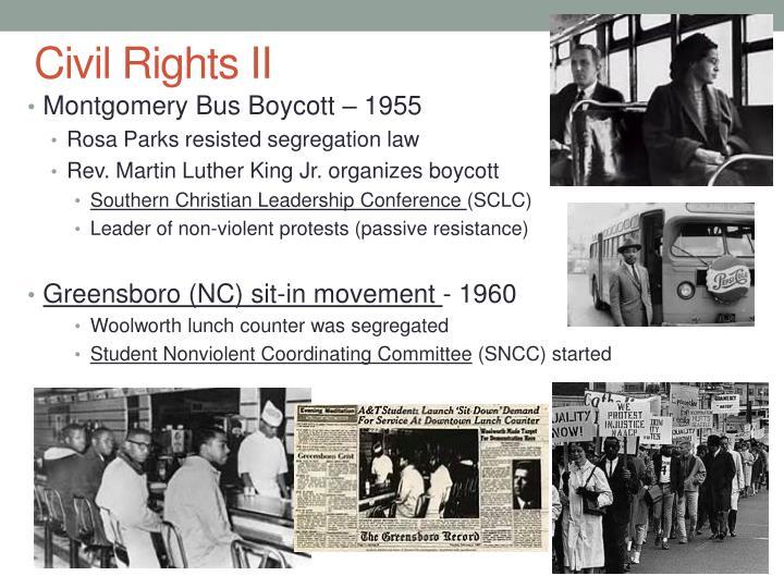 Civil Rights II