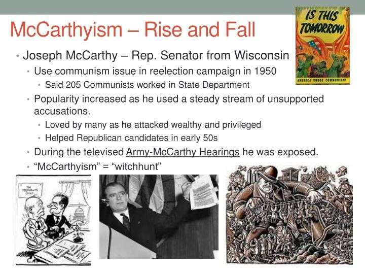 McCarthyism – Rise and Fall