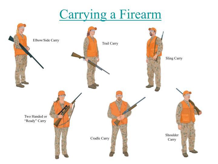 Carrying a Firearm