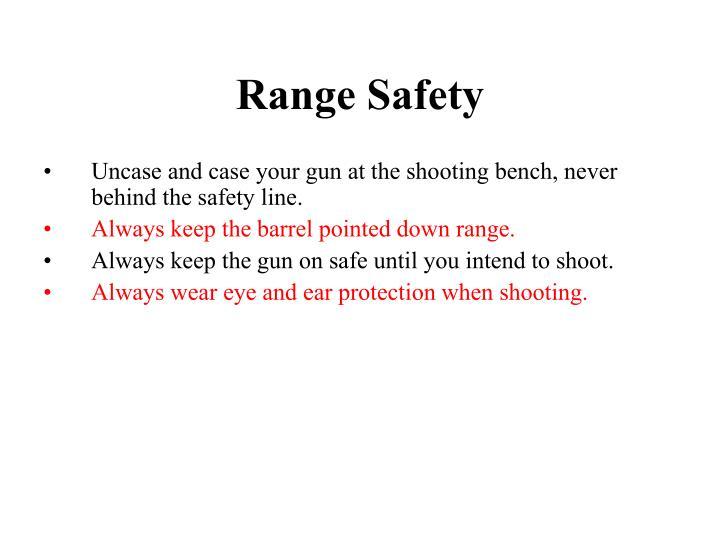 Range Safety