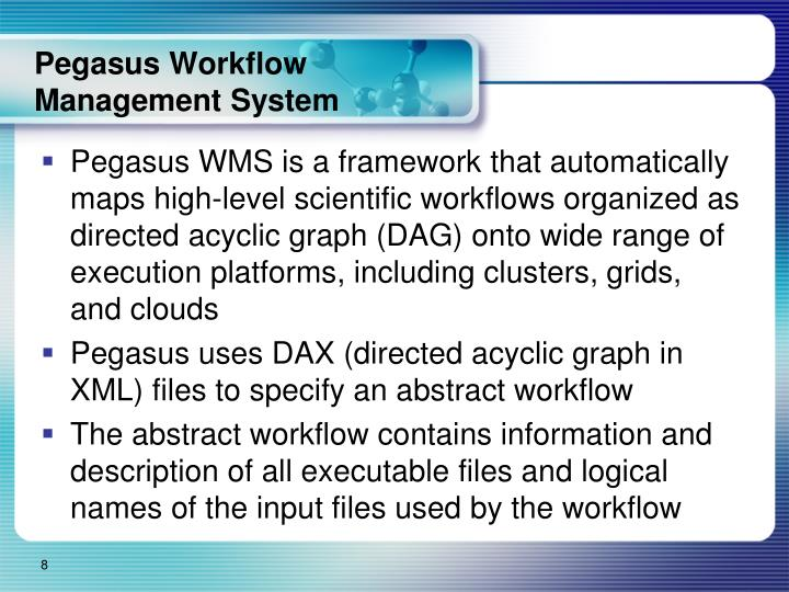Pegasus Workflow Management System