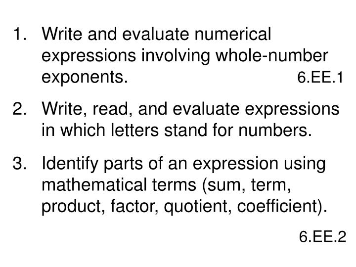 mathematical term evaluate Math dictionary math  evaluate even function even number event exceed exception exclusive (of events)  induction (mathematical induction.