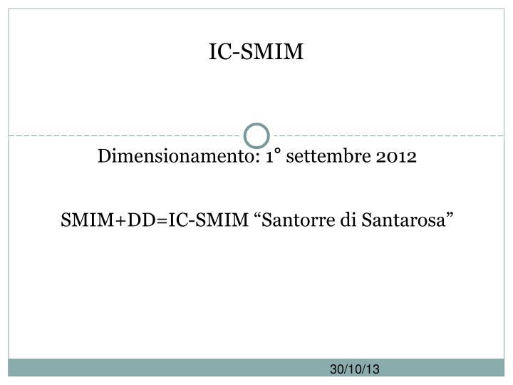 IC-SMIM
