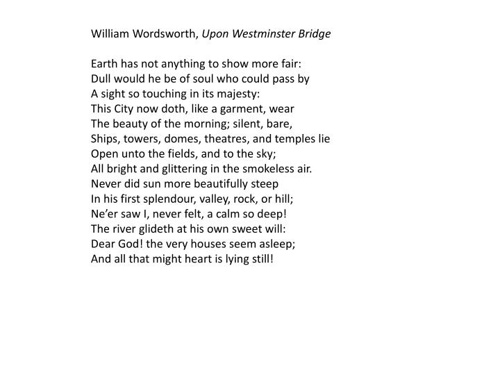William Wordsworth,