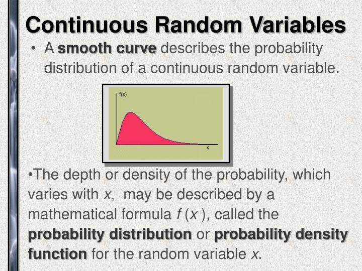 Continuous random variables1