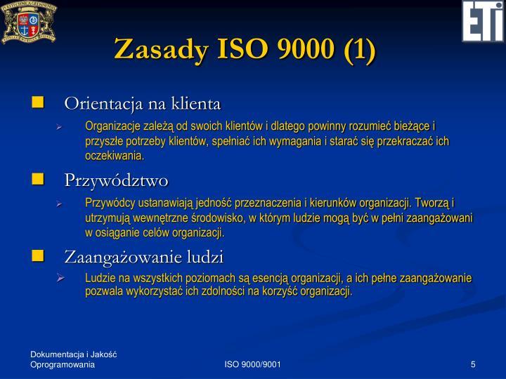 Zasady ISO 9000 (1)