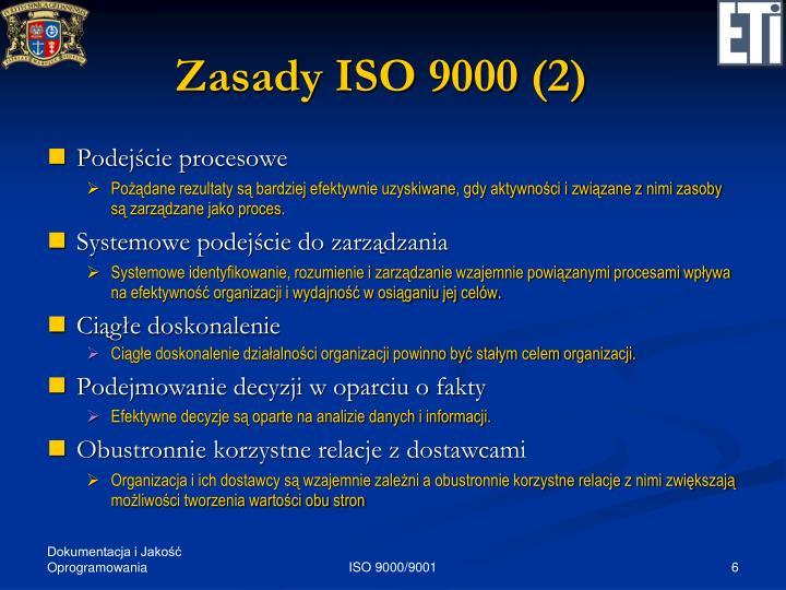 Zasady ISO 9000 (2)