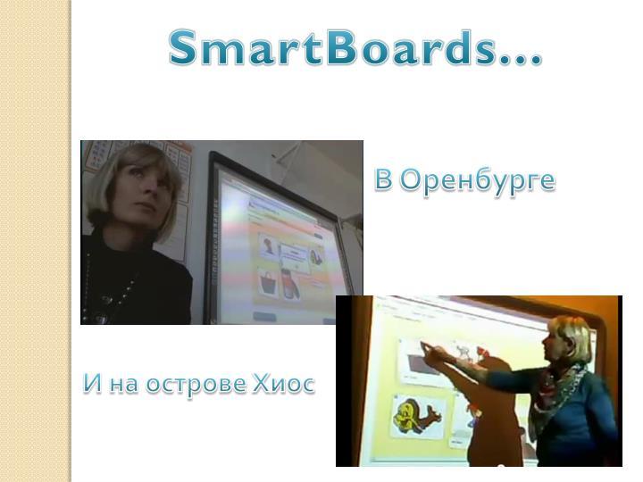 SmartBoards...