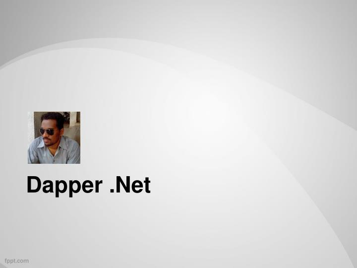 Dapper .Net