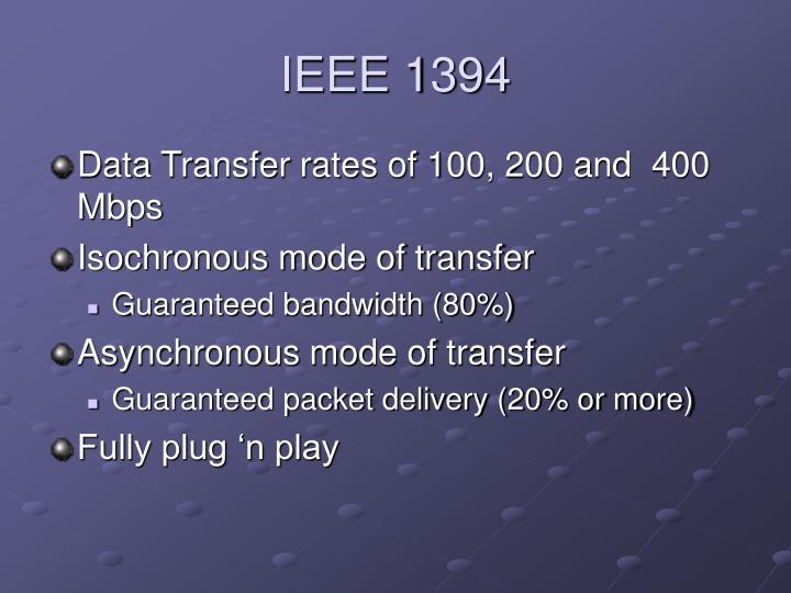 IEEE 1394