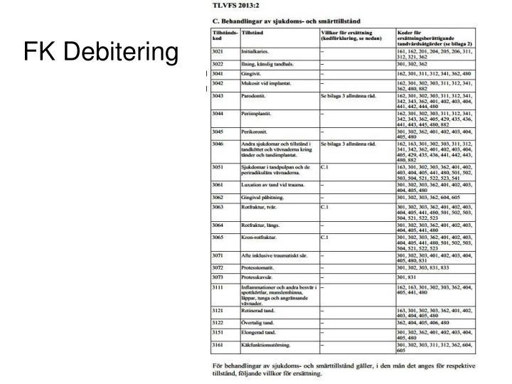 FK Debitering