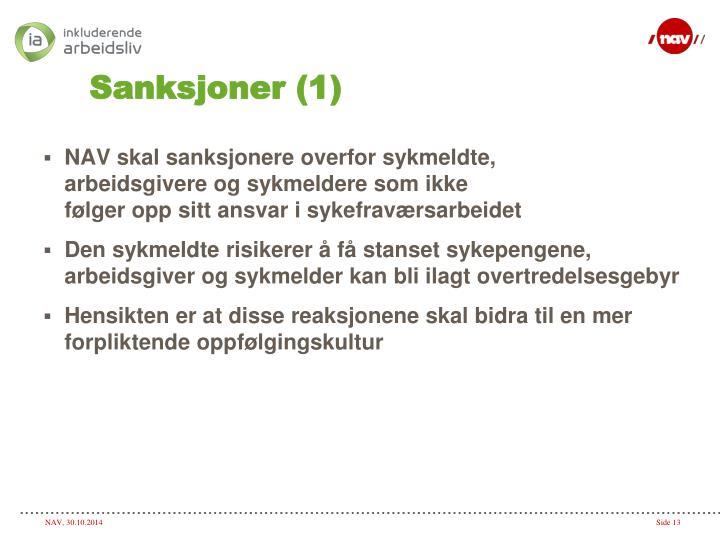 Sanksjoner (1)