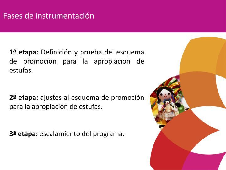 Fases de instrumentación