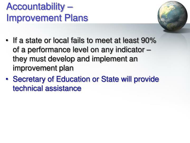Accountability –