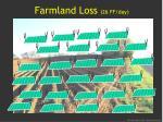 farmland loss 26 ff day