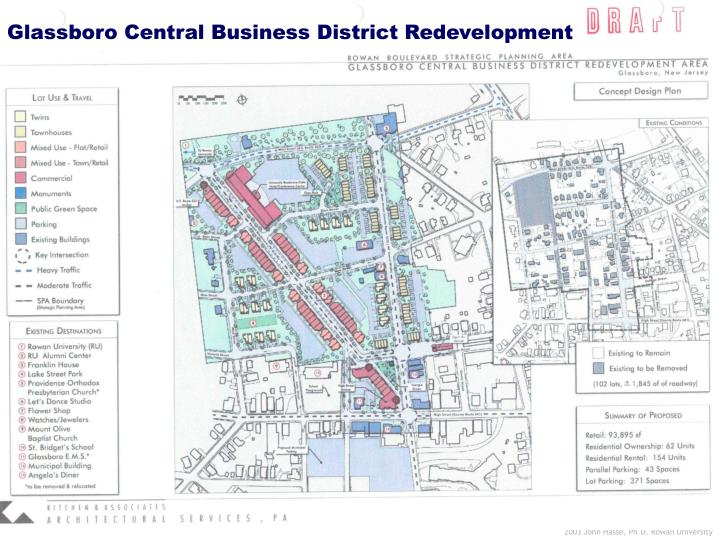 Glassboro Central Business District Redevelopment