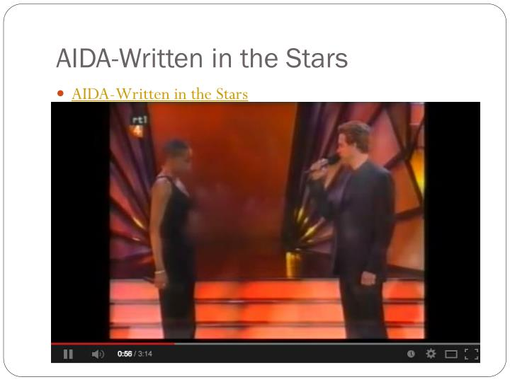 AIDA-Written in the Stars